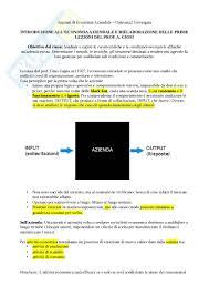 dispense di economia aziendale azienda appunti di economia aziendale