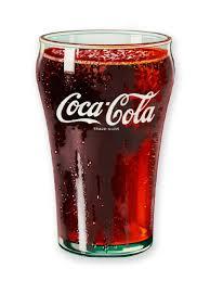 coca cola glass magnet
