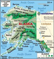 map of the united states showing alaska and hawaii alaska map map of alaska geography of alaska worldatlas