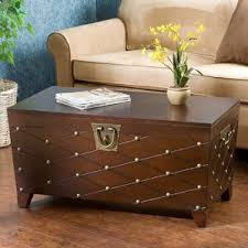 Chest Coffee Table Extra Large Storage Trunk Wayfair