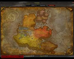 Wow Map New Continent Map Draenor Wow