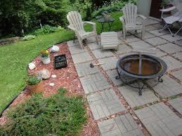 Cheap Firepit Small Backyard Patio Ideas Back Yard Pit Cheap Simple