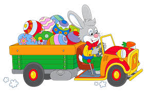 easter bunny with egg truck png clipart gallery yopriceville