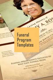 sle funeral programs pin by wendy on dorothy invitation templates
