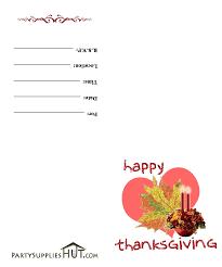thanksgiving day invitation