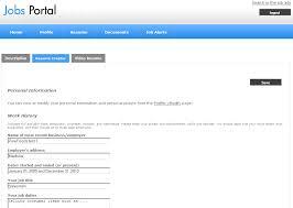 Resume Online Creator by Job Seekers Admin Panel Jobs Portal Software Best Script