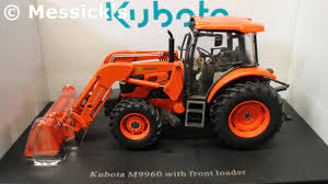 kubota 1 32 scale kubota m9960 w front loader die cast tractor