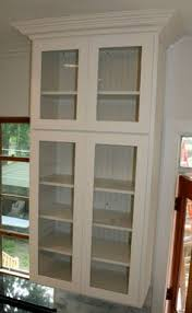 kitchen wall cabinets with glass doors picture of custom made maple kitchen wall unit glass door lovely
