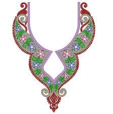 embroidery design of neck neckline embroidery designs embroideryshristi