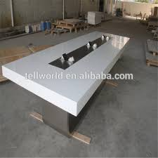 Office Furniture Boardroom Tables Artificial Marble Top Conference Table Boardroom Table Office