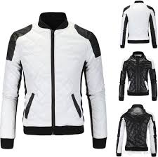 motorcycle jackets 2018 spring new fashion men u0027s jacket simple hit color pu leather