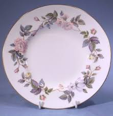 royal worcester june garland vintage bone china saucer