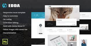 edda responsive creative portfolio and multipurpose template by