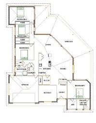 triangle block house plan house design plans