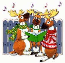 imagenes animadas de renos de navidad renos cantando navidad gifs animados navidad pinterest