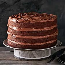 buttermilk chocolate layer cake familycircle com baked
