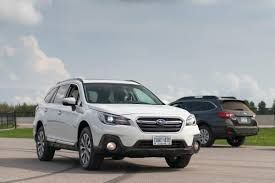 green subaru outback 2017 2018 subaru outback review first drive a refresh with major updates