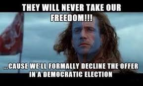 Scottish Meme - image 833091 2014 scottish independence referendum know