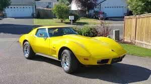 1976 corvette yellow fs 1976 yellow corvette t top in wa 23 500 obo corvetteforum