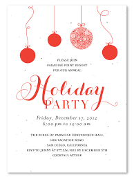 free holiday party invitations cimvitation