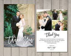 wedding thank you card this listing includes one or two sided 5 x 7 thank you card the