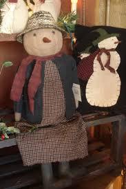 Primitive Holiday Decor 1413 Best Snowmen U0026 Ladies Images On Pinterest Primitives