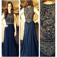 formal gown navy blue prom dresses evening dresses formal gowns