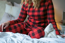 thermal buffalo check holiday pjs emillion thoughts