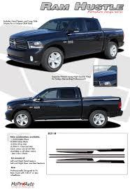 Vintage Ford Truck Decals - 2009 2017 dodge ram 1500 pickup truck hustle stripes graphics 3m