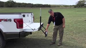 Ford F350 Truck Steps - 2015 ford f 150 tailgate step demonstration youtube