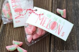 one in a melon valentine for kids free printable my frugal