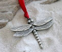 pewter dragonfly ornament and