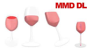 glass of wine mmd original download by vanillabear3600 on deviantart