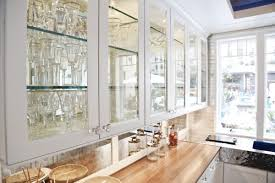 white kitchen cabinets with glass doors kitchen decoration