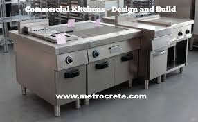 how to design and build a commercial kitchen metrocrete concrete