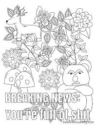 454 best vulgar coloring pages images on pinterest mandalas