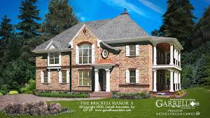 English Tudor Style by Brickell Manor A House Plan House Plans By Garrell Associates Inc