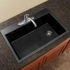 Transolid Radius  X  Granite Single Bowl Dropin Kitchen - Drop in single bowl kitchen sinks