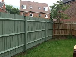 painted backyard fence ideas related to black stain for wood