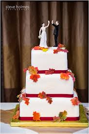 high five cake topper fall keene nh wedding mallory keith