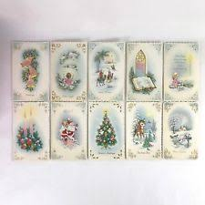 vintage christmas cards box christmas ebay