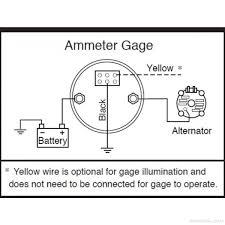 murphy murphy electric ammeter gage 60 0 60 amps 12v eg21am