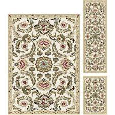 floral rug sets area rugs rugs the home depot