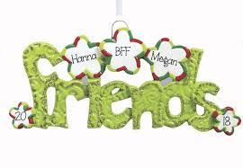 kid s friends my personalized ornaments