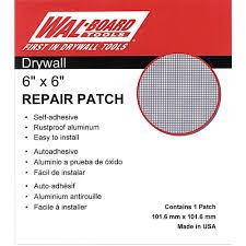 wal board tools 6 in x 6 in drywall repair self adhesive wall