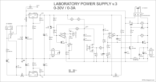 Diy Bench Power Supply Variable Power Lab Supply Schematic Negative Rail And Darlington
