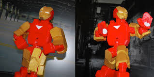 3d printed action figure company you kick funded by mark