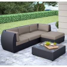 Sectional Patio Furniture - cozy sectional outdoor furniture home designing sectional