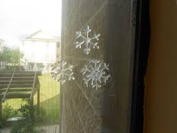 diy frosted snowflakes fast and fun winter decorations the