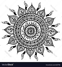 beautiful indian ornament royalty free vector image